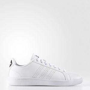 White adidas! Size 10, like new